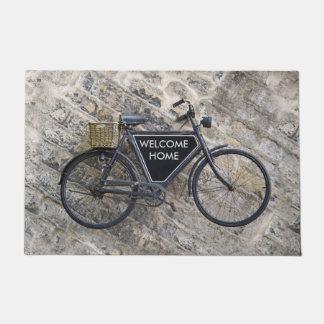 Vintage Bicycle Doormat