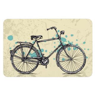 Vintage Bicycle Drawing Magnet