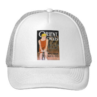 Vintage Bicycle Image -  Orient Cycles Cap