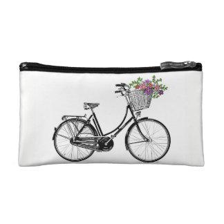 Vintage Bicycle Makeup Bags