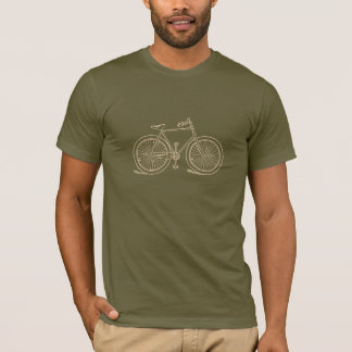 Vintage Bicycle Men's Bike Destroyed T-Shirt