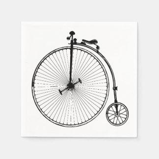 Vintage Bicycle Paper Napkin