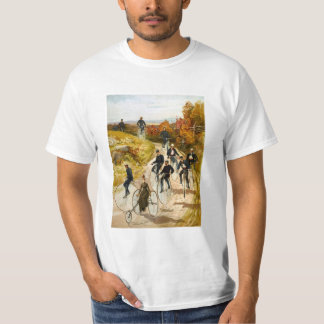 Vintage Bicycle Ride in the Country T-Shirt