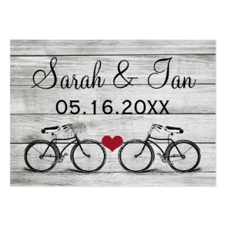 Vintage Bicycle Wedding Place Cards Business Card