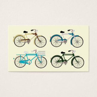 Vintage Bicycles Business Card