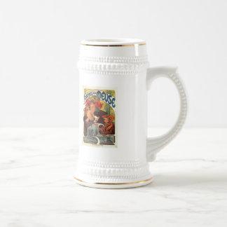 Vintage Bieres de la Meuse by Alphonse Mucha Coffee Mugs