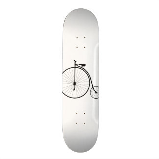 Vintage Bike 18.1 Cm Old School Skateboard Deck