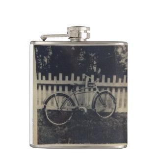 Vintage Bike Flask