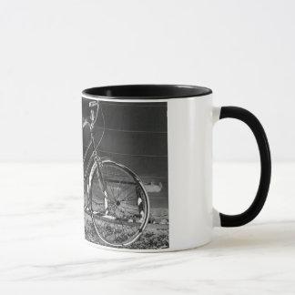 vintage bike mug