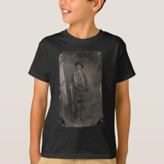Vintage Billy the Kid Old West Outlaw T-Shirt