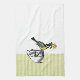 Vintage Bird Gift Kitchen Towels