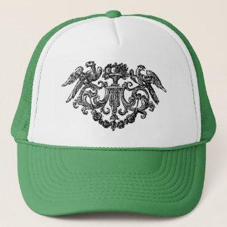 Vintage Bird Illustration Hat