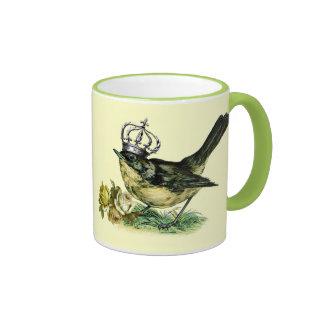 Vintage Bird.  Valentine's Day Gift Mug