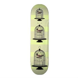 Vintage Birdcages 21.3 Cm Mini Skateboard Deck