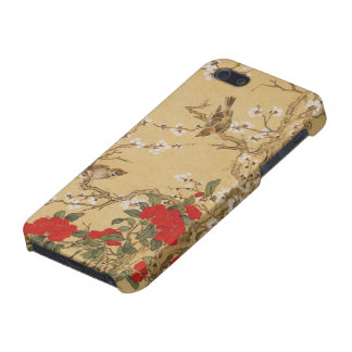 Vintage Birds and Flowers Case For iPhone 5/5S
