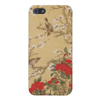 Vintage Birds and Flowers iPhone 5 Cover
