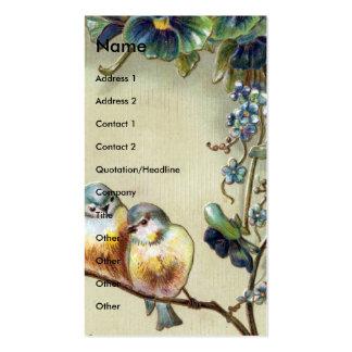 Vintage Birds Business Card Templates