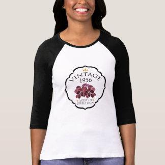 Vintage Birth Year Red Wine Label T-Shirt