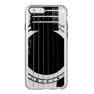 Vintage Black and Silver Guitar Incipio Feather® Shine iPhone 6 Case