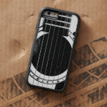 Vintage Black and White Guitar iPhone 6 Case