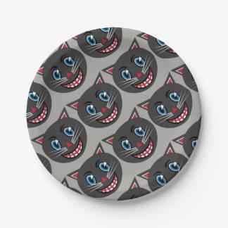 Vintage Black Cat Paper Plates