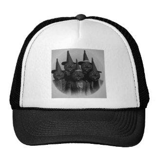 Vintage Black Cat/Witches Cap