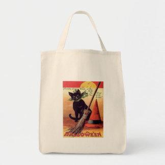 Vintage Black Halloween Cat