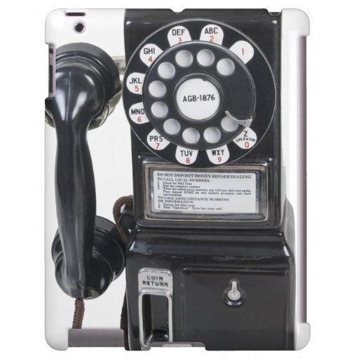 Vintage Black Pay Phone