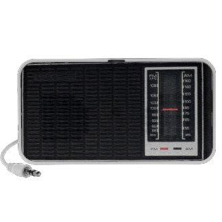 Vintage Black Radio Speaker