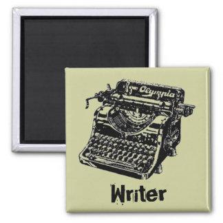 Vintage Black Typewriter Magnet