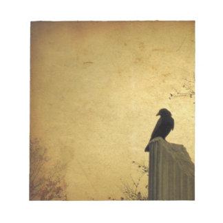 Vintage Blackbird Notepad