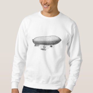Vintage Blimp Old Zeppelin Retro Hot Air Balloon Sweatshirt