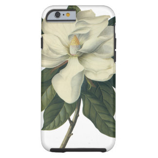 Vintage Blooming White Magnolia Blossom Flowers Tough iPhone 6 Case