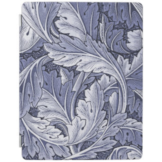 Vintage Blue Acanthus Leaf iPad Smartcover iPad Cover