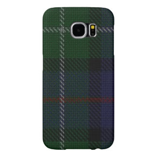 Vintage Blue and Green Plaid Samsung Galaxy S6 Cases