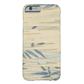 Vintage Blue Bamboo Barely There iPhone 6 Case