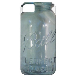 Vintage Blue Canning Jar iPhone 5 Covers