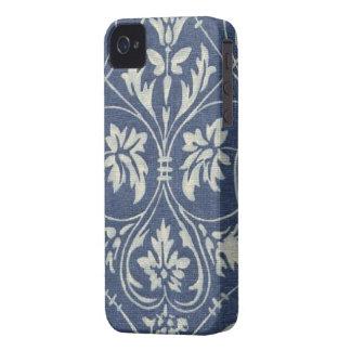 Vintage Blue Damask Blackberry Bold 9700/9780 iPhone 4 Covers