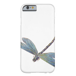 Vintage Blue Dragonfly Barely There iPhone 6 Case