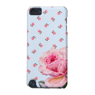 Vintage blue floral and dots iPod touch (5th generation) cases