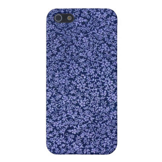Vintage Blue Flowers iPhone 5/5S Cover