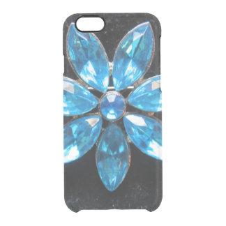 Vintage Blue Glass Flower iPhone 6/6s Case