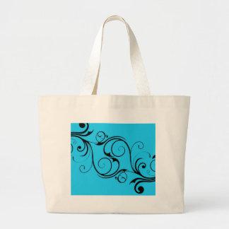 Vintage Blue Hangbag Bag