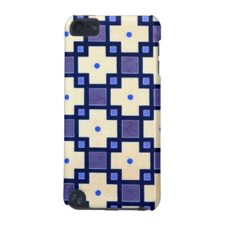 Vintage Blue Ivory Pattern iPod Touch 5G Cases