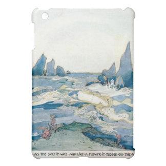 VINTAGE BLUE MERMAID OCEAN PRINT iPad MINI CASES