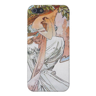 Vintage Blue Moon Goddess iPhone 5 Cover