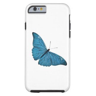 Vintage Blue Morpho Butterfly Customized Template Tough iPhone 6 Case