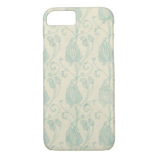 Vintage blue paisley pattern case