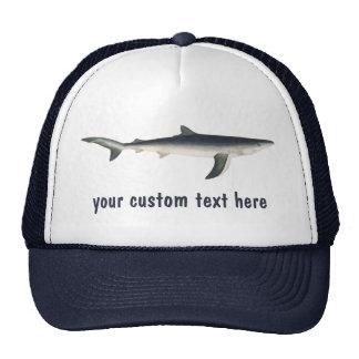 Vintage Blue Shark, Marine Aquatic Ocean Life Cap