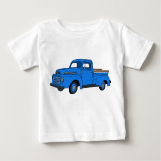 Vintage Blue Truck Child's Shirt